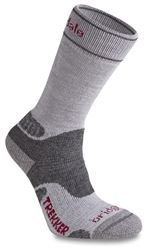 Bridgedale Wool Fusion Trekker Women's Sock Silver Grey