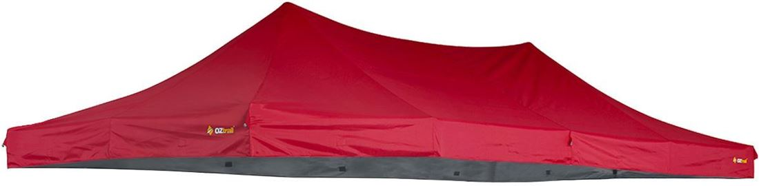 Oztrail Deluxe Pavilion 6x3 Replacement Canopy Red