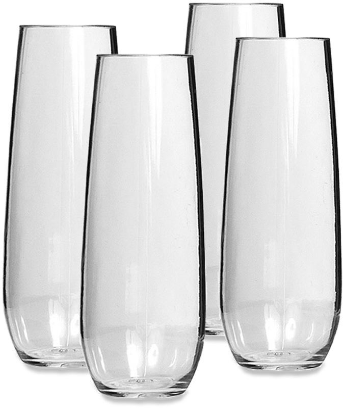 Picture of Primus Tritan Stemless Champagne Glass - 4Pk