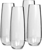 Primus Tritan Stemless Unbreakable Champagne Glass 4Pk