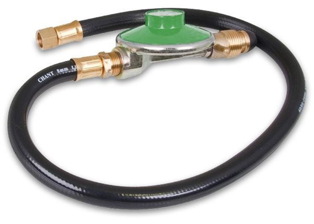 "Picture of Companion Gas Hose 3/8"" SAE to POL Reg"