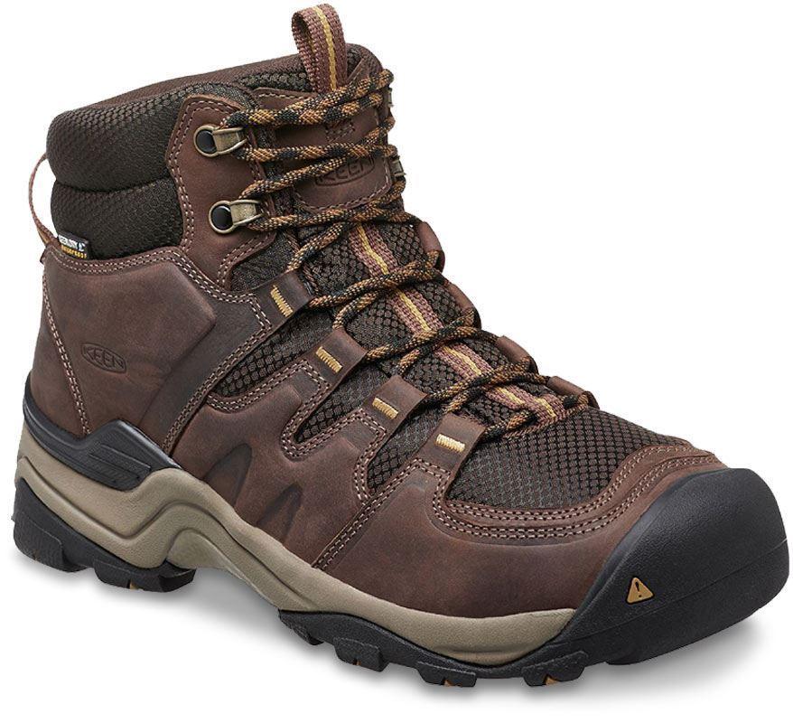 Keen Gypsum II Mid Hiking Boot Coffee Bean Bronze Mist