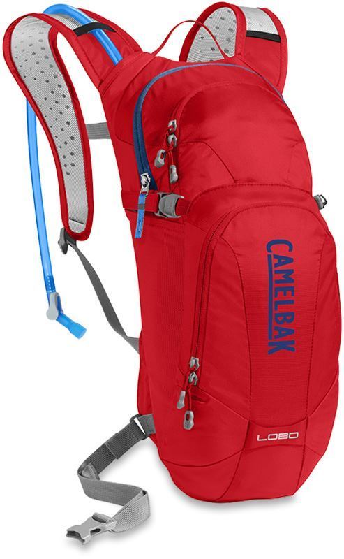 Camelbak Lobo with Crux Bladder Racing Red Pitch Blue