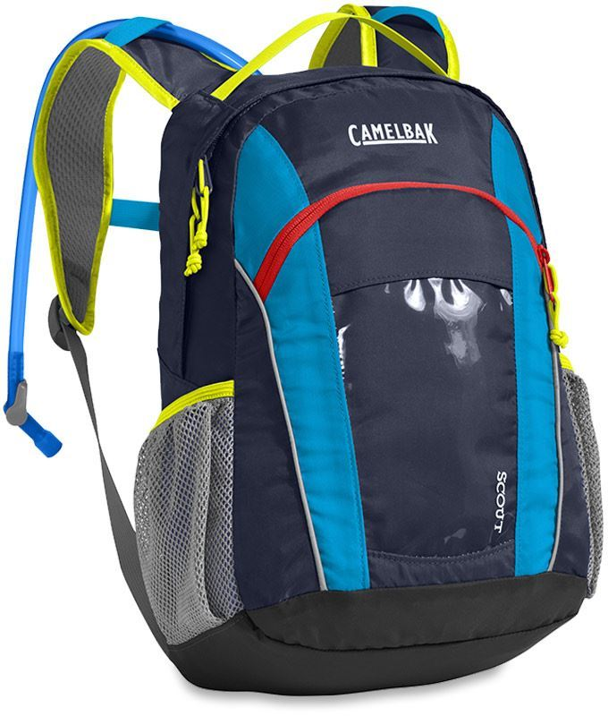 Camelbak Scout Kids Hydration Pack Navy Blazer Atomic Blue
