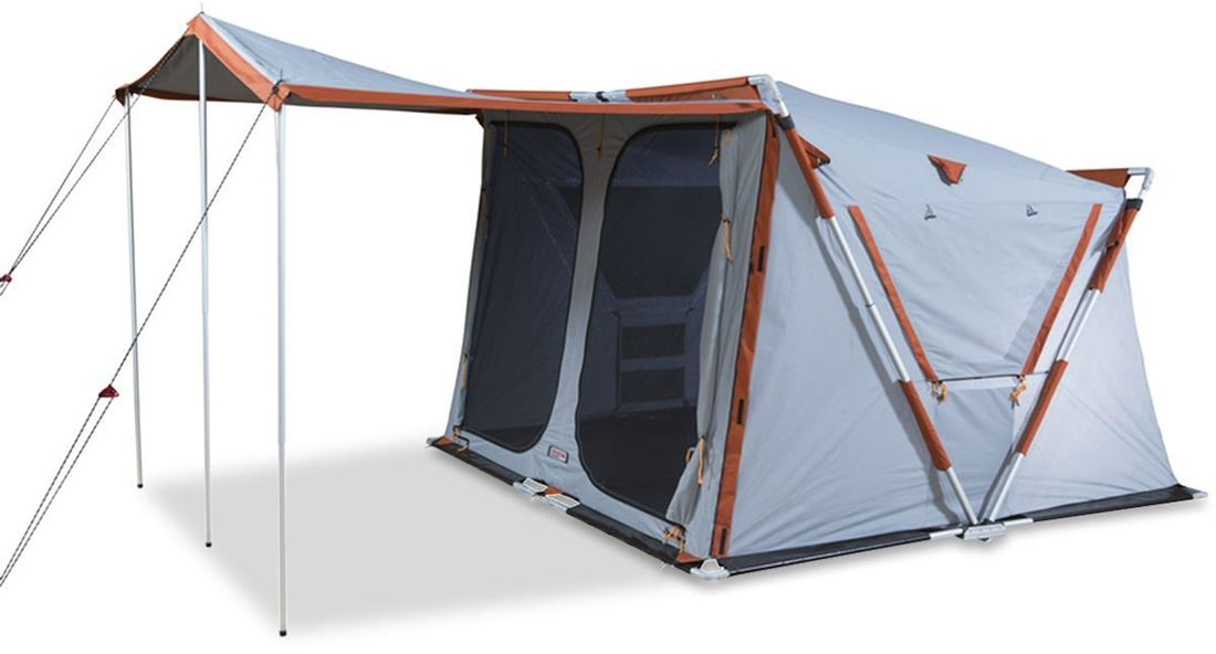 Explore Planet Earth Speedy Earth Canvas Touring Tent