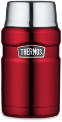 Thermos Stainless King 710ml Food Jar Red
