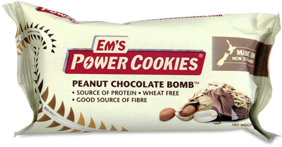 Em's Power Cookies Peanut Chocolate Bomb Energy Bar